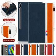 For Samsung Galaxy Tablet A6 10.1 T580 T585 Case Flip Leather Stand Card Cover