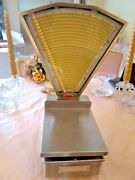 Stimpson Computing Scale Louisville Ky Usa Stainless Steel Globe Pre-owned Rare
