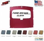 1984-1991 Fox Body Mustang Coupe Sunroof Headliner In Your Choice Of Cloth