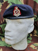 Royal Army Medical Corps Ramc Small Crown Beret And Anodised Cap Badge New