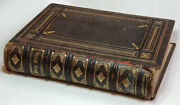 The Holy Bible Rev. Donald Macleod J.s. Virtue Co Vol 1 Engraving Steel And Wool