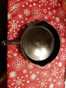 Rare Vintage Wagner 12 Cast Iron Skillet With Heat Ring.