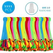 10-pack1111 Balloons Instant Fill Self-sealing Water Balloons Bunch O Balloon
