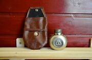 Rifle Oilers, Oil Can And Cover Mosin-nagant, Soviet Military Oil Bottle Holder