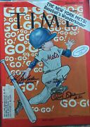 Miracle Mets Time Magazine 9-5-1969 Signed By Ron Swoboda And Cleon Jones Rare