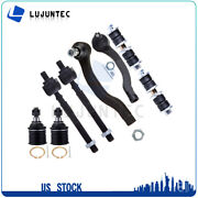 8pcs Suspension Parts Sway Bar Tie Rod End Ball Joints For 96-00 Honda Civic