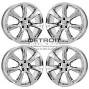 20 Nissan Murano Pvd Bright Chrome Wheels-ps Rims Factory Oem 62581 Exchange...