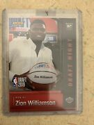 Zion Willamson 1st Rc Draft Night Variation-untouched From Panini Ssp/100🔥🔥⬆️