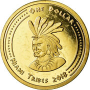 [785127] Coin, United States, Dollar, 2018, U.s. Mint, Miami Tribes, Ms63