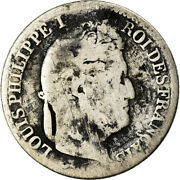 [873580] Coin, France, Louis-philippe, 1/2 Franc, 1834, Lille, Vg8-10, Silver