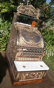 313 Barber Shop Cash Register Haircut And Shave 25andcent Prof. Refinished