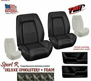 Sport R Deluxe Front And Rear Upholstery + Foam Molded Door Panels Covertible