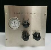 Powers Fotopanel 440-1000 Thermostatic Mixing Valve Tempering Film Processing