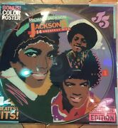 Michael Jackson And The Jackson 5-14 Greatest Hits Picture Disc Lp With Poster