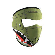 Zan Headgear Bomber Menand039s Motorcycle Helmet Accessories-one Size Fits Most