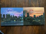 2010 Pandd United States Mint Uncirculated Coin Set In Packaging Coa As Shown