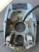 Volvo Penta Aq 290 Dp Gimbal Housing Transom Plate 868130 With Trim Cylinders
