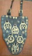 Vintage Shire Horse Show Harness Brasses  6 Brasses And 30 Studs