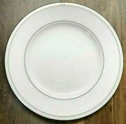 Kate Spade Noel Alabaster Dinner Plate Made In The Usa New