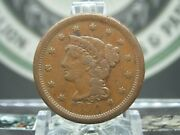 1850 Braided Hair Large Cent Penny 1c 1 East Coast Coin And Collectables, Inc.