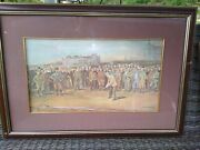 St Andrewand039s Open Championship Print 1895 Golf Michael Brown Professional Framed