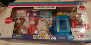 Build-a-bear Workshop Stuffing Station With 3 Plush Animals 39 Pieces New