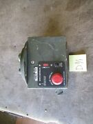 Used Bpmtu Controller For Motorized Turret Missing Parts For Hmmwv M1151 M1114