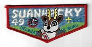 Oa 49 Suanhacky 1998 Noac Delegate S24 Flap Red Bdr. Queens Ny [ny-1678]