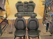 14-19 Mini Cooper F55 Front And Rear Seats Complete Set Black Oem