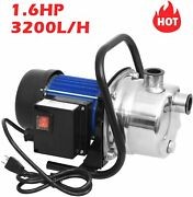 1.6hp Automatic On/off Water Removal Pool Cover Pump Garden Yard Outdoors