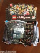 Lego Series 8 Minifigure Set Of 16 Factory Sealed Unopened Complete Lot 8833 New