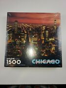 Springbok 1500 Piece Puzzle, Chicago, Your Kind Of Town.new Sealed Box