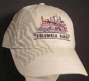 Columbia Gorge Hat Paddle Wheel Steamboat River Oregon Usa Embroidery Print Cap