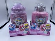 Pikmi Pops Surprise Cheeki Puffs Scented Shimmer Puff 2 Surprises Perfume 2 Lot