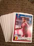 Panini Road To Euro 2016 Stickers Not Sold In The Uk---91 Different Stickers