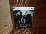 Resident Evil 6 - Chinese Big Box Edition Pc New And Sealed
