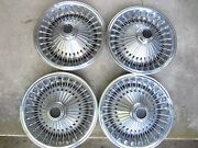 70-74 Dodge Plymouth 14 Hubcaps Cuda Fury Challenger Charger Satellite