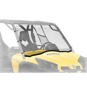 Full Fixed Hard Windshield Can-am Commander 1000 Max 800r Electric 2011-2020