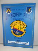 1989 Usaf 8th Security Police Squadron Kunsan Air Base Korea Yearbook Wolf Pack