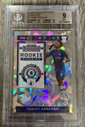 2019-20 Chronicles Contenders Tammy Abraham Rookie Ticket Cracked Ice /23 Bgs 9