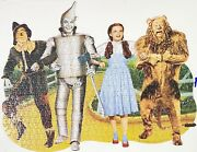 Wizard Of Oz Puzzle Shapes 478 Piece Paper House