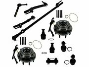Wheel Hub Ball Joint Tie Rod End Kit For 05-07 Ford F250 Super Duty F350 Rp72v6