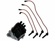 Ignition Distributor And Spark Plug Wire Set For 90-91 Acura Integra Zf91c5