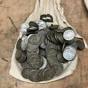 100 Face Value All Walking Liberty Half Dollars 200 Coins - Full Dates 10d