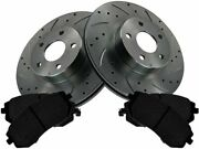 Brake Pad And Rotor Kit For 92x Baja Forester Outback Impreza Legacy Ts55t5