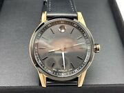 Movado 0607358 Museum Sport Rose Gold Black Dial Black Leather 42mm Menand039s Watch