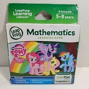 New My Little Pony Friendship Magic Leap Frog Pad Leapster Gs Math Learning Game