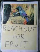 Very Rare Tracey Emin - 2012 - Reach Out For Fruit - Signed Print