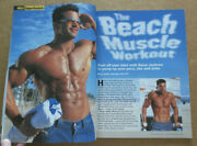 Muscle And Fitness Bodybuilding Workout Magazine Laurie Vaniman Shirtless Male