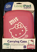 New Hello Kitty Leappad Explorer Carrying Case Fits Leappad/leappad2 Pink